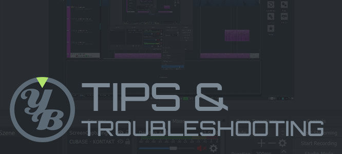 tips & troupleshooting